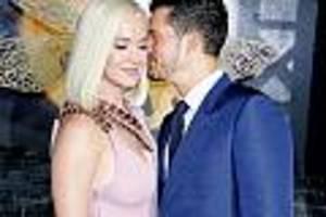 """Sängerin meldet sich bei Instagram - """"Es ist ein Mädchen"""": Katy Perry und Orlando Bloom verraten Geschlecht ihres Babys"""