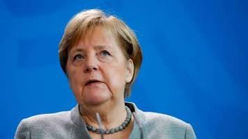 News zum Coronavirus: Jetzt live: Kanzlerin Merkel zu den Maßnahmen der Bundesregierung