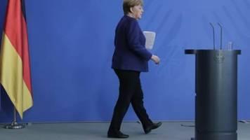 Merkel: Wir können noch kein Datum für Lockerung der Corona-Maßnahmen nennen