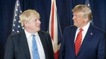 Boris Johnson: Donald Trump: Alle Amerikaner beten für ihn