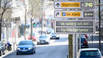 kleinere städte verzichten in corona-krise auf parkgebühren