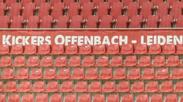 Kickers Offenbach beklagt: Kein Training wie die Eintracht