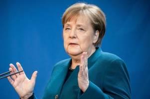 merkel hält deutschland weiter in quarantäne
