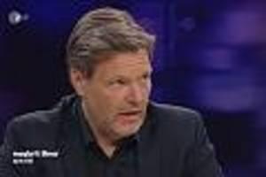 """tv-kolumne """"maybrit illner spezial"""" - grünen-chef habeck wird im tv zu corona-krise ausgefragt - hat aber nur lasche antworten parat"""