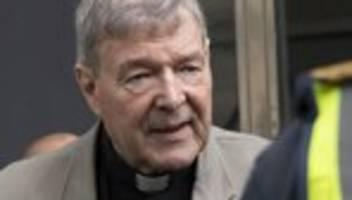 vatikan: gemischte reaktionen nach freispruch von george pell