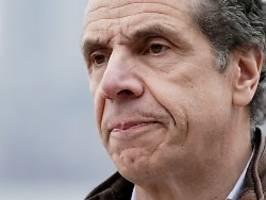 Gräber im Park?: Cuomo sieht New York am Corona-Höhepunkt