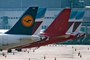 Reaktion auf Corona-Krise: Lufthansa schrumpft Flotte und schließt Germanwings