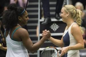 Match von Wozniacki gegen Serena Williams verschoben