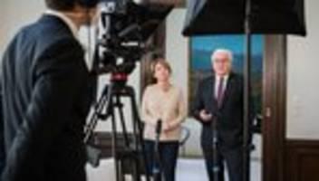 Frank-Walter Steinmeier: Viele Familien erleben eine belastende Zeit