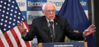 US-Präsidentschaftswahl: Bernie Sanders zieht Kandidatur zurück