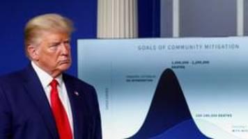 Coronavirus-Pandemie: WHO weist Trumps Kritik zurück