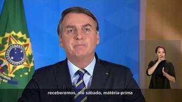 Video: Bolsonaro will Malariamedikament zur Bekämpfung von COVID-19 herstellen