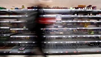 erste panik hat sich gelegt: marktforscher: zeit der hamsterkäufe ist erst einmal vorbei