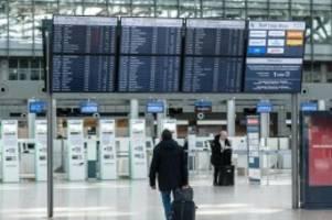 Senat: 14 Tage Quarantäne für Ankommende am Hamburger Flughafen