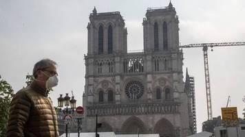 trotz coronakrise: ein jahr nach dem brand: macron hält an restaurierungsplänen für notre-dame fest