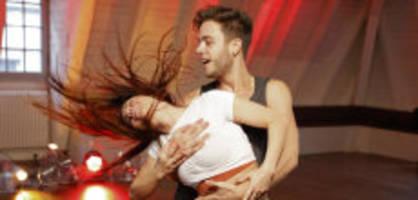 luca über tanzpartnerin: «wir gingen uns zwei tage lang aus dem weg»