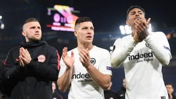 europa league: frankfurts magischer frühling dank büffelherde