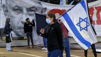 tausende israelis demonstrieren gegen netanyahu