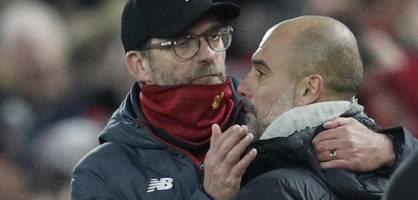 klopp vs. guardiola: das meister-drama 2019