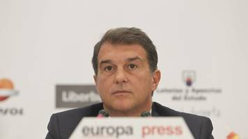 primera division: laporta will wieder auf barça-chefposten