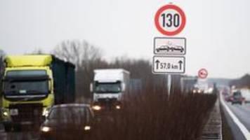 experten für 130km/h-tempolimit auf autobahnen