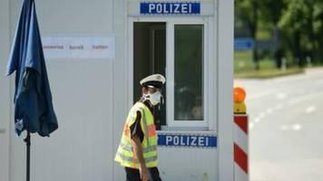 grenzkontrollen zu Österreich, frankreich und der schweiz werden gelockert