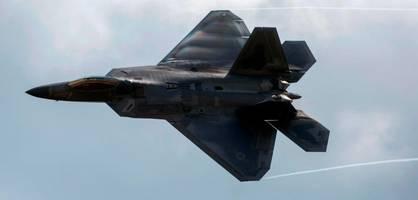 us-luftwaffe verliert 350 millionen dollar teuren superkampfjet