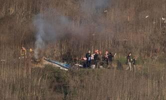 kobe bryant: hubschrauber-pilot stand nicht unter drogen