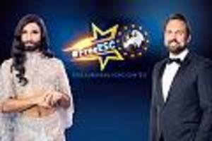 """""""eurovision song contest""""-ersatzshow im live-stream - so sehen sie den """"free esc"""" auf prosieben live im internet"""
