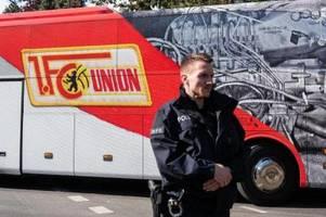 union gegen bayern: polizei löste kleinere versammlung auf