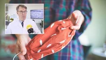 coronavirus: hygiene-experte erklärt: so desinfizieren sie ihre schutzmaske richtig