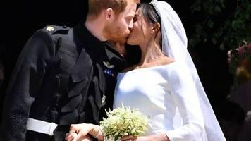 Royale Ehen : Vor zwei Jahren heirateten Harry und Meghan