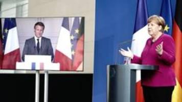 Merkel und Macron: Weitere 500 Milliarden Euro für Europa