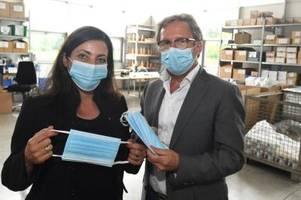 zwei unterallgäuer unternehmen produzieren bald atemschutzmasken