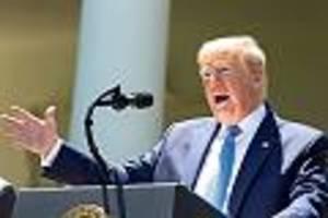 """us-präsident fordert """"wesentliche verbesserungen"""" - trump droht who mit austritt und endgültigem zahlungsstopp"""