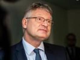 afd-chef meuthen erwägt sonderparteitag zur klärung des machtkampfs