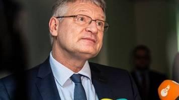 kalbitz-rauswurf: afd-chef meuthen sieht partei im machtkampf hinter sich