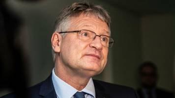 machtkampf: afd-chef meuthen will richtungsstreit um kalbitz auf sonderparteitag klären