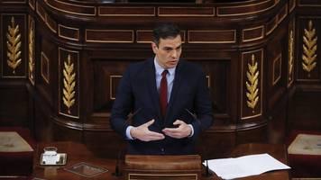 corona-krise: proteste in spanien nach verlängerung des notstands