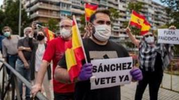 corona-krise in spanien: von zusammenhalt keine spur