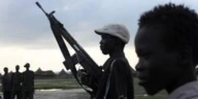 Hunderte Tote in Südsudan: Krieg um Land und Vieh