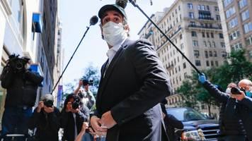 michael cohen: trumps ex-anwalt cohen vorzeitig aus haft entlassen