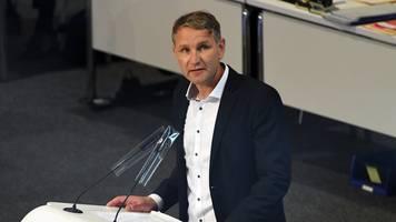 thüringens afd-chef höcke warnt vor spaltung der partei