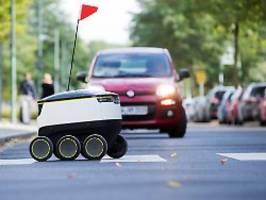 Hype um autonome Lieferdienste: Kommt der Einkauf bald per Roboter?