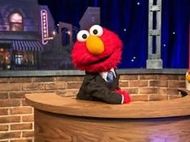 Sesamstraßenstar wird Talkmaster: Das feine Monster Elmo lässt's krachen