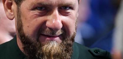 Tschetscheniens Machthaber Kadyrow in Moskauer Klinik