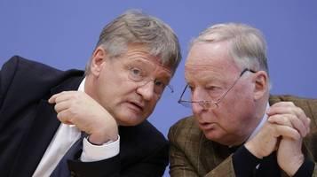 AfD in der Krise: Alexander Gauland sieht Zukunft von Jörg Meuthen skeptisch