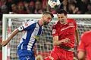 Hinspiel endete 0:1 aus Hertha-Sicht - Berliner Derby: Hertha BSC will Revanche gegen Aufsteiger 1. FC Union Berlin