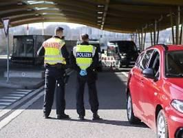 Grenzkontrollen seit Coronakrise: Bundespolizei meldet 3100 Fahndungserfolge