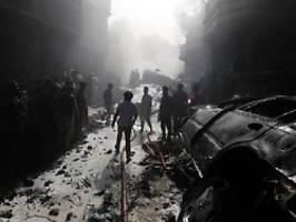 ursachensuche in karatschi: fast alle passagiere sterben bei absturz